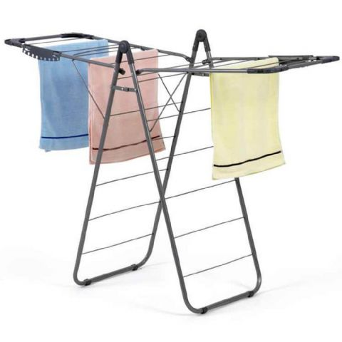 Grey Concorde Winged Ironing Hanging Rack & Airer